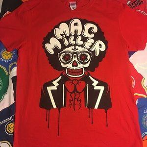 Mac Miller 2012 concert shirt